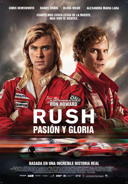Rush, pasión y gloria - La carrera entre Niki Lauda y James Hunt